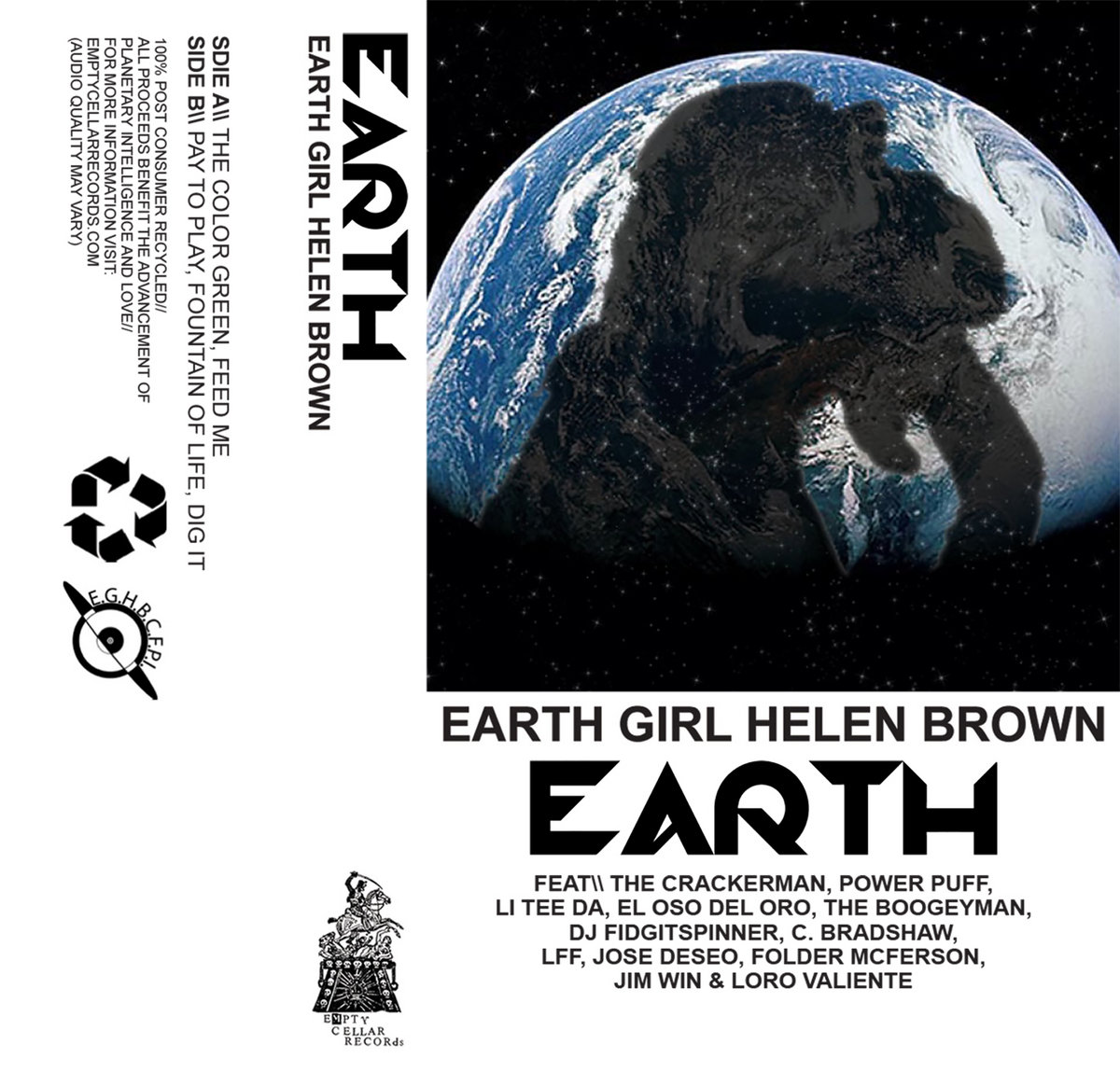 Earth Girl Helen Brown - Earth